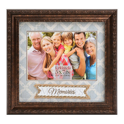 Bronze Memories Picture Frame, 5x7