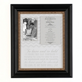 Wedding Invitation Shadowbox Frame