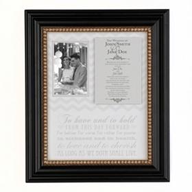 Wedding Invitation Shadowbox Frame