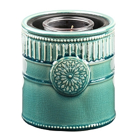 Blue Medallion Candle Warmer