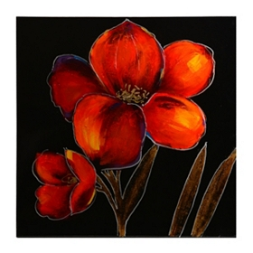 Red Poppies I Canvas Art Print