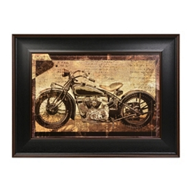 Hello On Wheels Framed Art Print