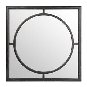 Black Inner Circle Mirror