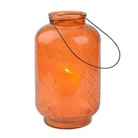 Embossed Orange Lantern