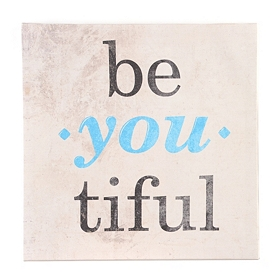 Be-you-tiful Canvas Art Print