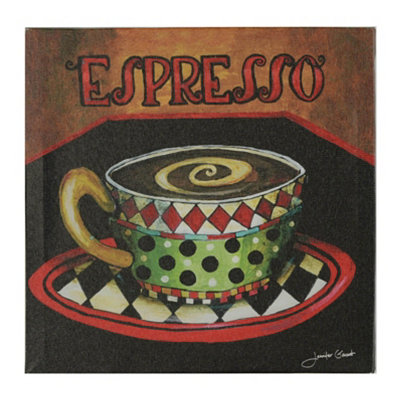 Espresso Canvas Art Print