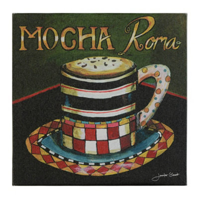 Mocha Roma Canvas Art Print