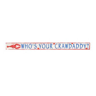 Who's Your Crawdaddy Word Block
