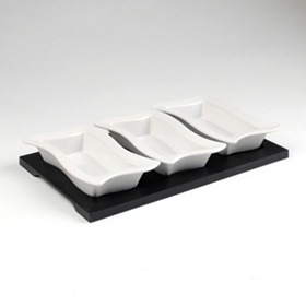 Bunker Hill 3 pc. Tasting Set with Tray