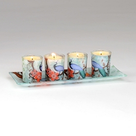 Royal Garden Votive Holder Set