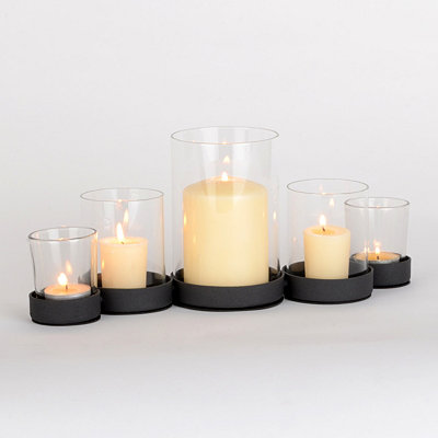 Metal Circles Candle Runner