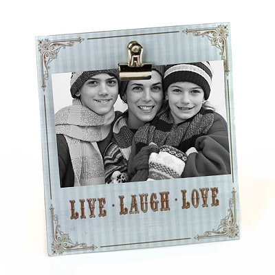 Live, Laugh, Love Clip Photo Stand
