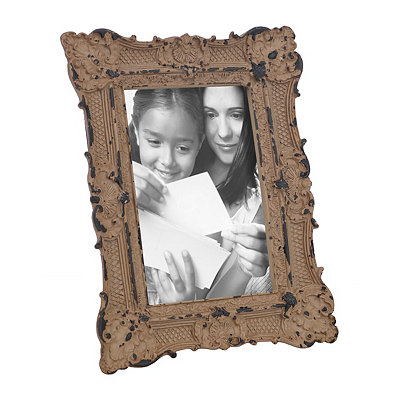 Ornate Brown Vintage Picture Frame, 4x6