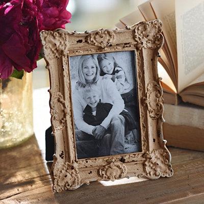 Ornate Vintage Tawny Picture Frame, 4x6