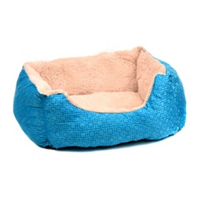 Aqua Geoprint Pet Bed