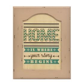 Home Framed Plaque
