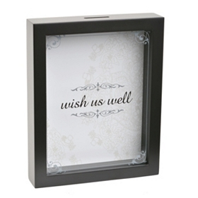 Wish Us Well Wedding Wishes Shadowbox