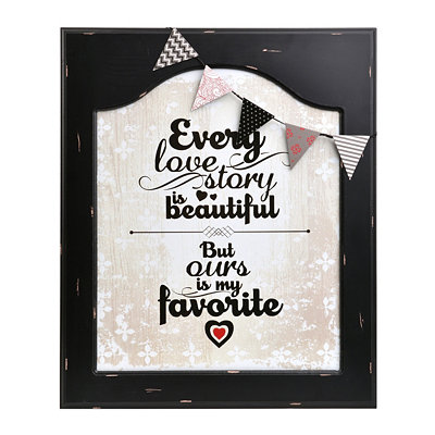 Every Love Story Framed Plaque