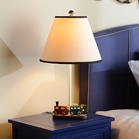 Kids Train Table Lamp