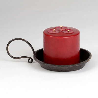 Iron Candle Plate