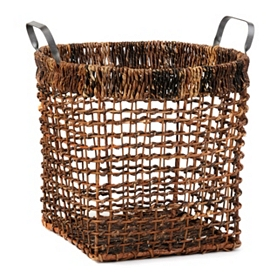 Maize Basket with Metal Handles, Large