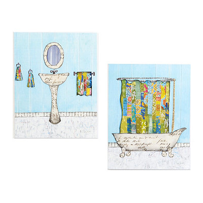 Shop new wall decor for your home kirklands for Bathroom decor kirklands