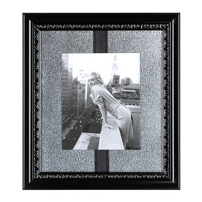 Marilyn Monroe II Mirrored Framed Art Print
