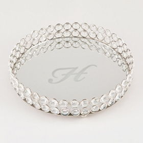 Round Monogram H Marilyn Tray