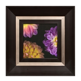 Purple Peonies I Framed Art Print