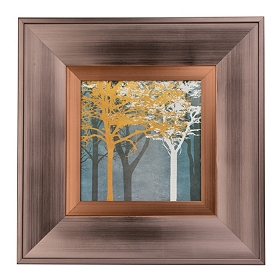Tree Silhouette I Framed Art Print