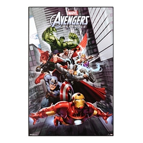 Avengers Assemble Wall Plaque