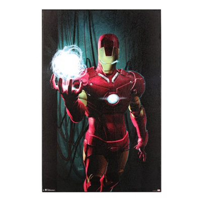 Iron Man Wall Plaque