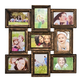 Brushed Bronze Collage Frame