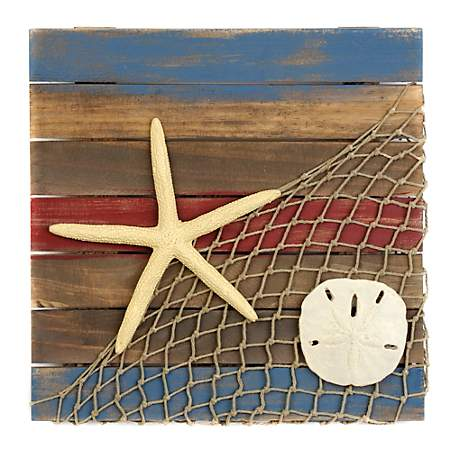 Coastal Icons Wooden Plaque Kirklands