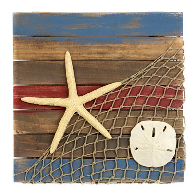 Coastal Icons Wooden Plaque