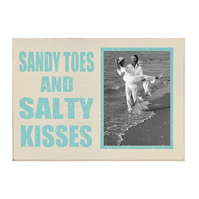 Sandy Toes & Salty Kisses Picture Frame, 5x7