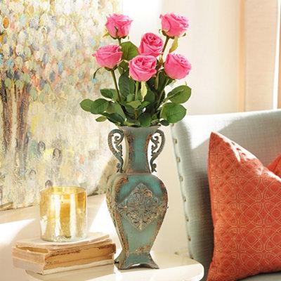 Pink Garden Rose Stem