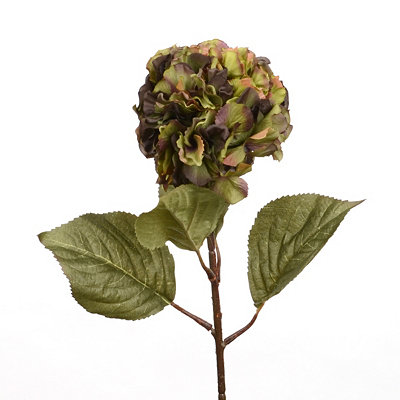 Green Hydrangea Stem, 17 in.