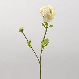 Ivory Ranunculus Stem, 22 in.