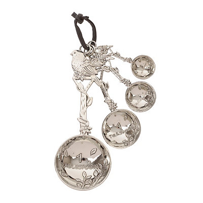 Silver Bird Measuring Spoon Set
