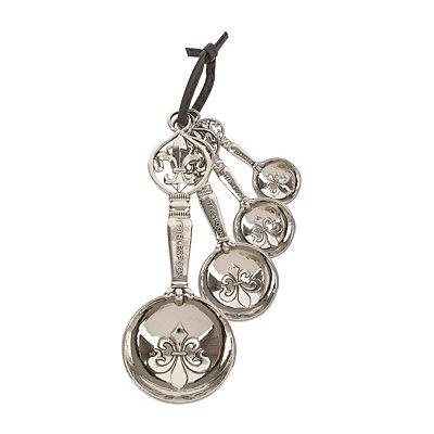 Silver Finial Measuring Spoon Set