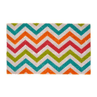 Bright Chevron Doormat