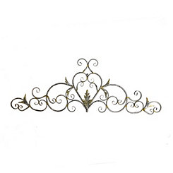 Ava Metal Wall Plaque