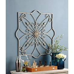 Emma Metal Wall Plaque