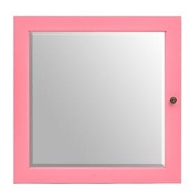 Mini Pink Jewelry Armoire Mirror