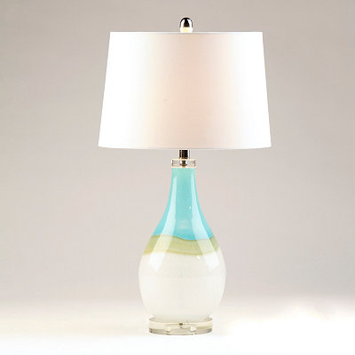 Blue Sky Glass Table Lamp