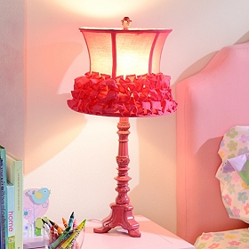 Fuchsia Ballerina Table Lamp