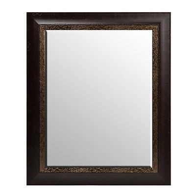Espresso Framed Mirror, 29x35