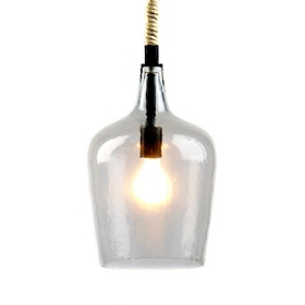 Clear Glass Pendant Light