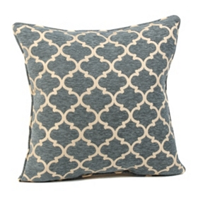 Blue Sandglass Accent Pillow